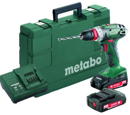 Metabo BS 18-2x2Ah Quick (602217950)   MALL